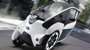 Toyota's i-Road electric vehicle